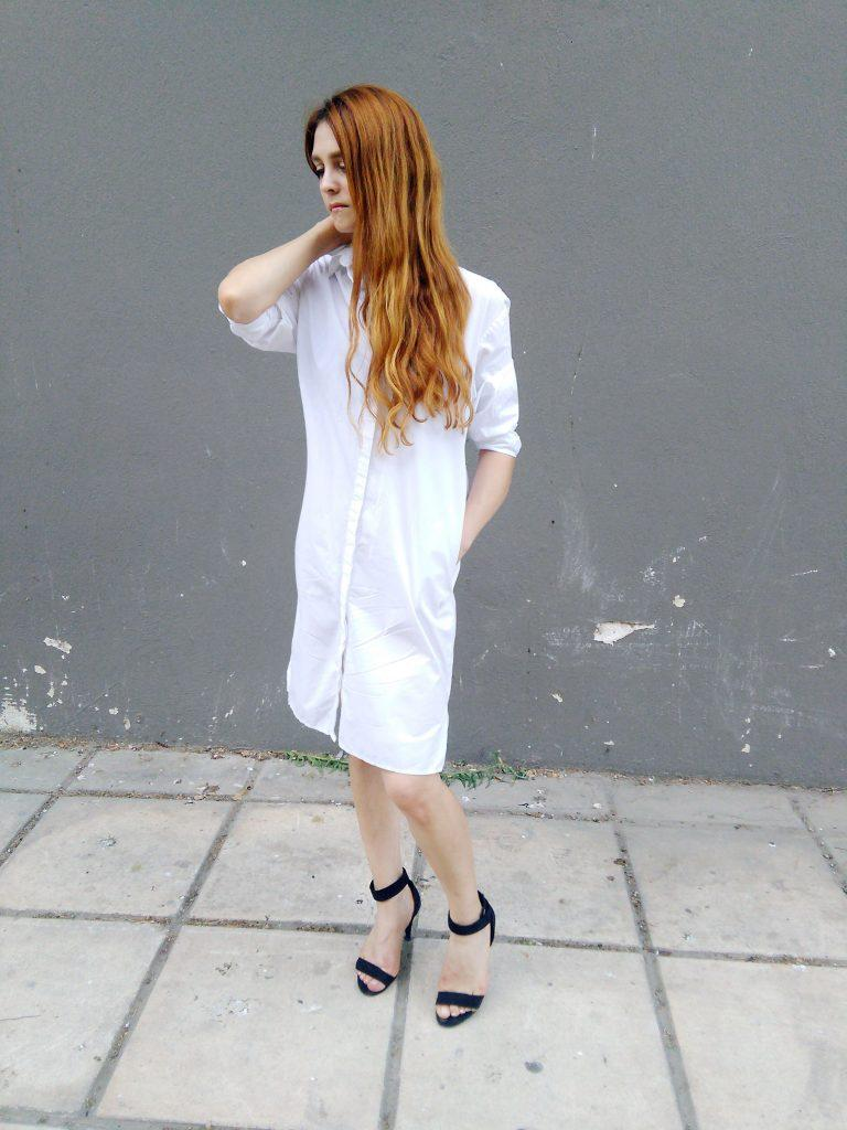 white shirt dress how to wear asos white capsule wardrobe minimal